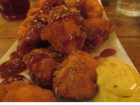 Sacamuelas: chicken pieces