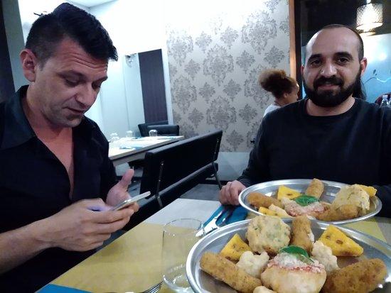 Pizzeria Sarnataro: i fritti