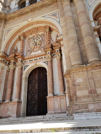 Malaga Cathedral ภาพถ่าย