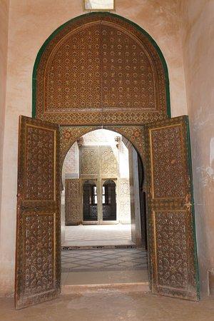Telouet, Morocco: Interior of the Kasbah