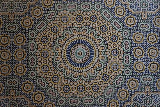 Telouet, Morocco: Interior detail