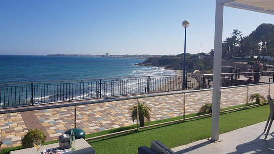 The view from Restaurante Punta Prima