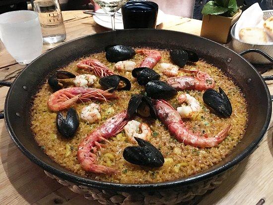 Albufera : 口味完美的海鮮燉飯