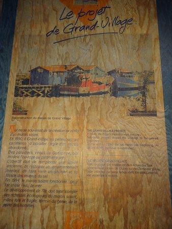 Le Port des Salines : musée