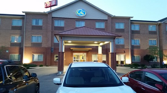 Comfort Suites - Kings Island: From of the Comfort Suites