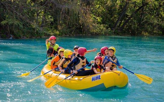 Huasteca Secreta Salto del Meco : Rafting en el río el salto