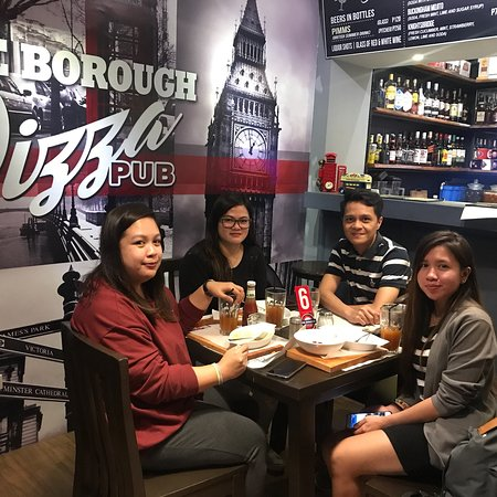 The Borough Pizza Pub: Loyal and happy customers of #TheBoroughPizzaPub