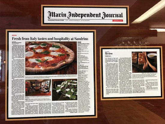 San Drino : Newspaper Write Up