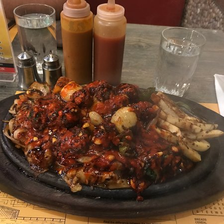 BBQ Chicken with Peri Peri Sauce - Picture of Yana Sizzlers
