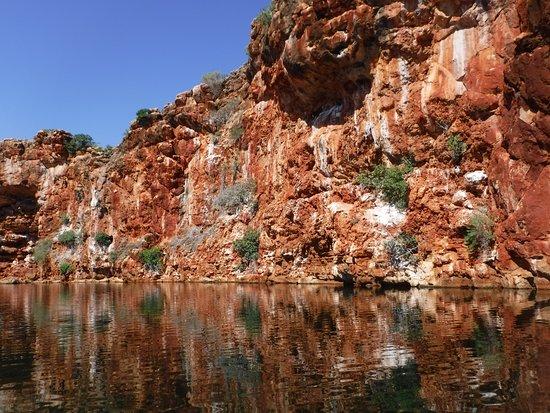 Yardie Creek: Una parete del canyon