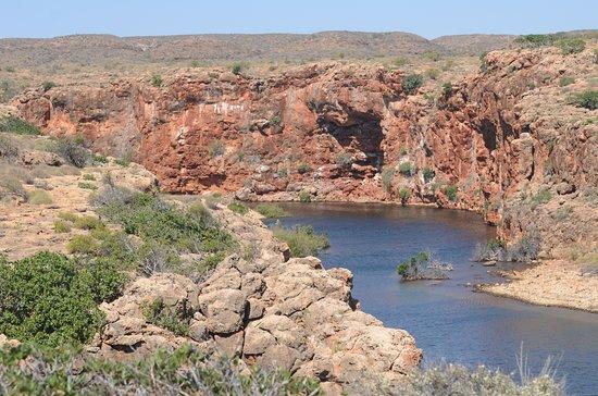 Yardie Creek: Una vista del canyon