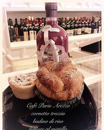 Hotel L'Aretino: Pasticceria artigianale, il nuovo cornetto intrecciato alla crema  Cafè PARIS