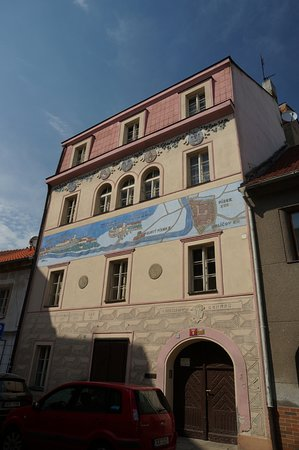 Pisek, Czech Republic: the house