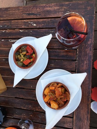 Zen Lounge Bar and Grill: tapas