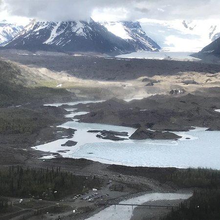 Wrangell Mountain Air Photo