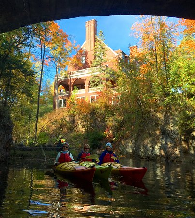Day Tripper of Duluth: Fall paddling from Glensheen Mansion