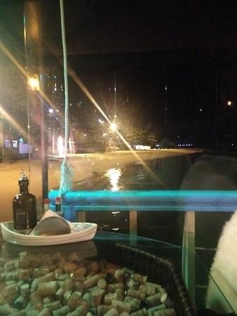 Ostradamus Bar e Restaurante: Vista do restaurante