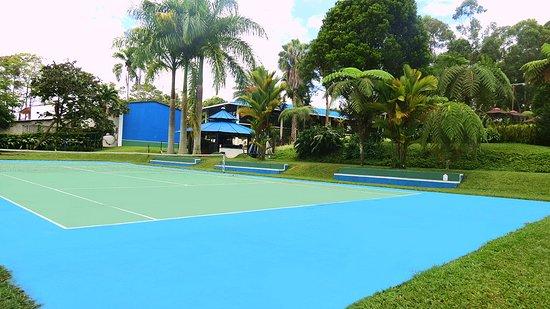 Ecohotel Las Orquideas: Cancha de tenis