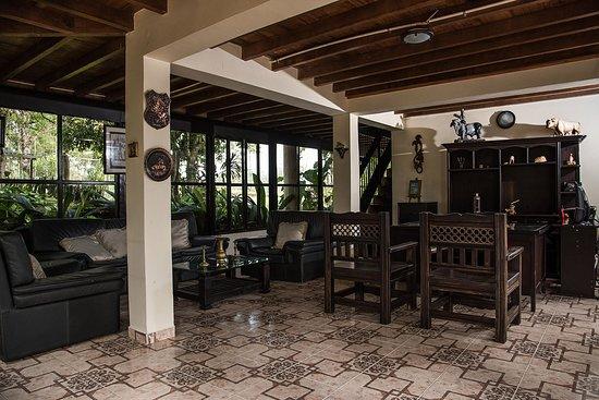 Ecohotel Las Orquideas : Recepción