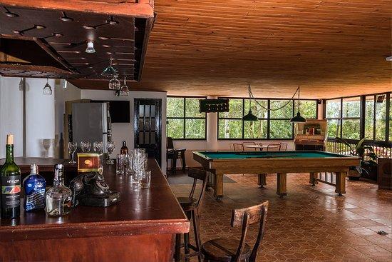 Ecohotel Las Orquideas : Bar y billar