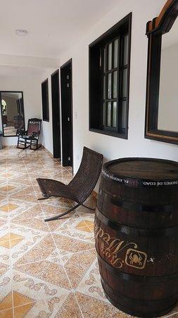 Ecohotel Las Orquideas : Zonas comunes