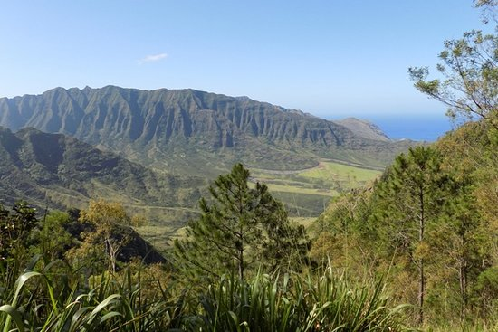 Mokuleia, HI: End of Hike - Training Area