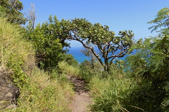 Mokuleia, HI: First Part of Hike