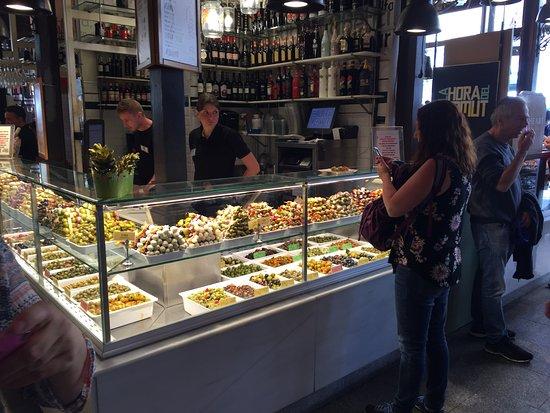 Mercado de San Miguel: Olives