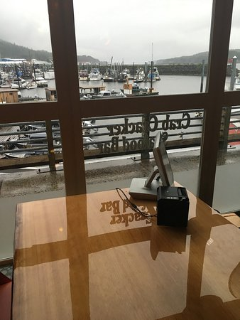 Ketchikan Crab & Grille: One of the best views in Ketchikan