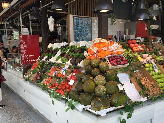 Mercado de San Miguel: Fresh produce