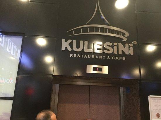 Kulesini Restaurant: Insegna