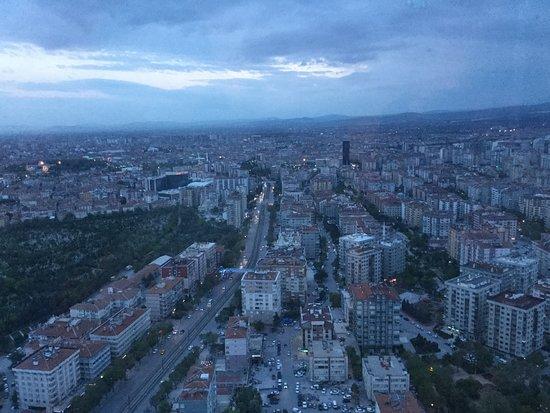 Kulesini Restaurant: Foto dall'alto