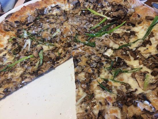 Thin Crust Wheat Wild Mushroom Pizza - Picture of California Pizza ...