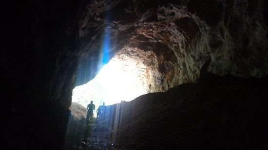 Spar Grotto: Primeira gruta