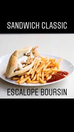 MG Marmara: Sandwich escalope boursin