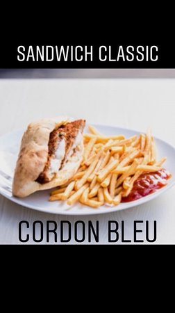 MG Marmara: Sandwich Cordon bleu