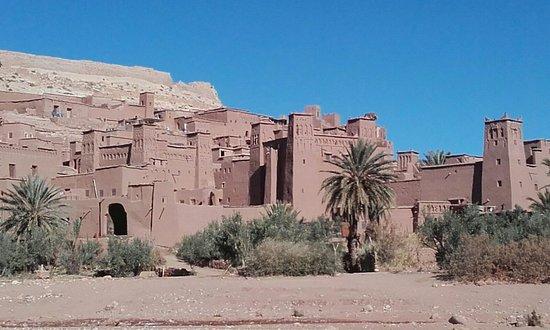 M'Hamid, Morocco: Kasbah Ait Benhaddou