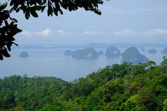 Tab Kak Hang Nak Hill Nature Trail : Le parc national et ses ïlots
