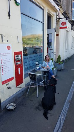 Port Bannatyne, UK: Dog Friendly