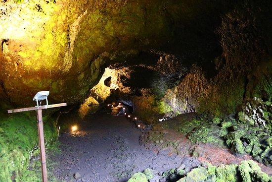 Parque Cuevas Volcánicas : As cores são uma atração