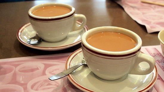 Street Cat: Hong Kong traditional Milk Tea