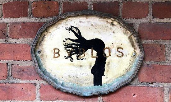Byblos: Subtle Exterior Signage