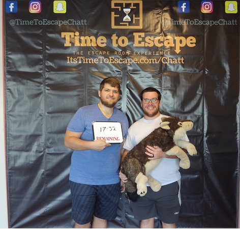 Time to Escape: the Escape Room Experience (Chattanooga) : These guys crushed Locke Room Lockdown with only two people!! Can you beat their time?