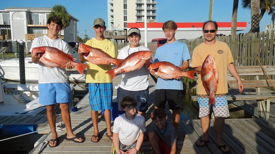 Reel Eazy Charters: Families Large and Small catch Nice fish