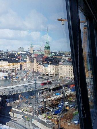 Eriks Gondolen: View toward Gamla Stan