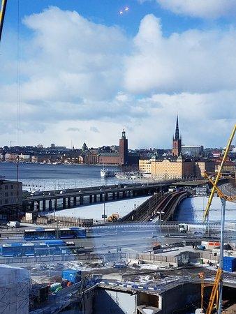 Eriks Gondolen: View toward Kungsholmen