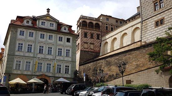 Schönes Hotel ganz nahe bei der Burg