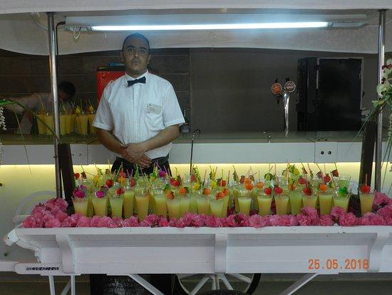 Djerba Aqua Resort : cocktail du directeur