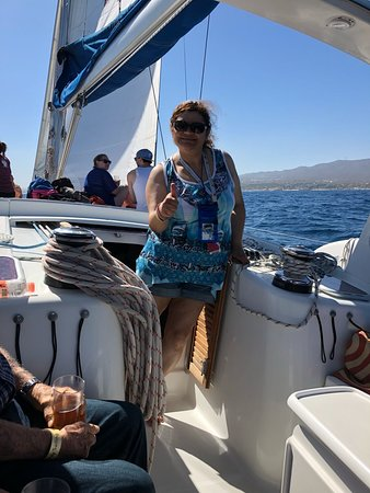 Cabo Adventures - Luxury Sailing Adventure: My wife's feelings about the trip!! Thumbs up!!!