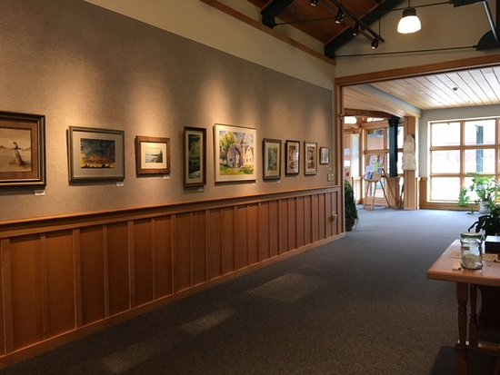 North Creek, NY: Widlund Gallery at Tannery Pond Community Center - featuring different artists each month